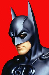 George Clooney in Batman & Robin by Art Cinema Gallery