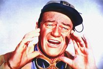 John Wayne in Hatari! by Art Cinema Gallery
