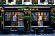 Alex's London Pub von David Pyatt