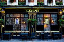 Alex's Pub von David Pyatt
