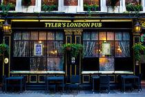 Tyler's London Pub von David Pyatt