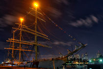 USCG Eagle Cutter - Boston by Joann  Vitali