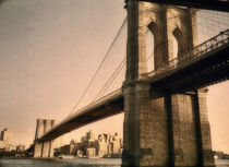 'Old Brooklyn Bridge' von Joann  Vitali