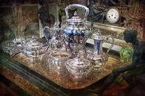 Tiffany Sterling Silber Kaffee Service by Gunter Nezhoda