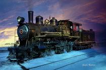 Baldwin 4-6-0 Lokomotive von Gunter Nezhoda
