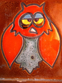 Rote Eule / red owl by techdog