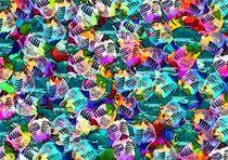 Abstrakte Fische von Eckhard Röder