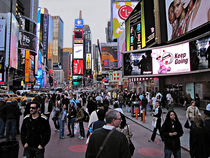 Times Square New York USA von David Dehner