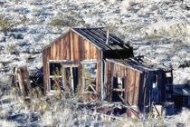 Miner's Shack in the Mojave Desert von Kathleen Bishop