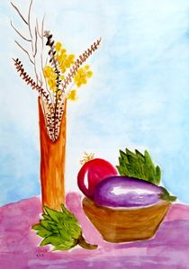Articokes-and-eggplant