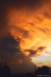 Explosive Sunset by Dan Richards