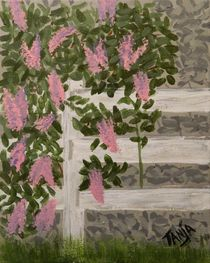 Garden Fence by Tanja  Beaver