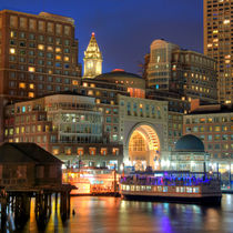 Party on Boston Harbor by Joann  Vitali