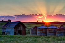 Home Town Sunset by Mark Kiver
