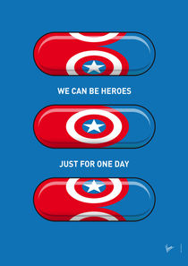 My SUPERHERO PILLS - Captain America by chungkong