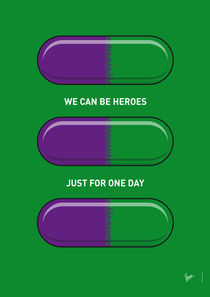 My SUPERHERO PILLS - The Hulk von chungkong