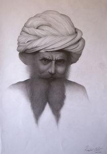 The hypnotizer from India drawing von Milos Radulov