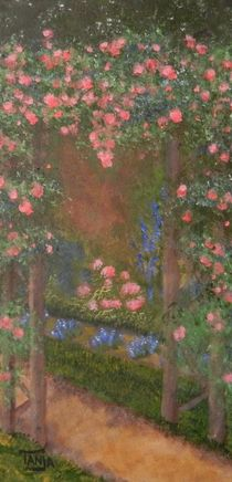 Garden Arbor by Tanja  Beaver