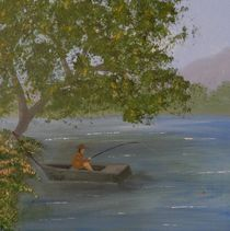 Fishing Spot by Tanja  Beaver