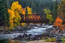 Old Pipeline Bridge von Mark Kiver