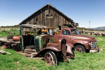 Ranch Trucks by Kathleen Bishop