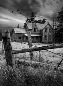 Abandoned Farm House by Randall Nyhof