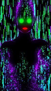 Lady Neon I by Tony Christou