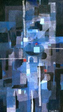 Blue Mixed von Jamie Frier
