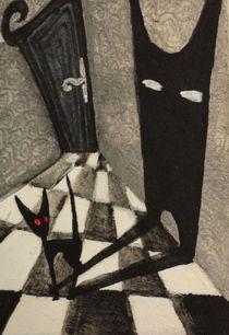 Miniature painting Burton inspired von Dora Vukicevic