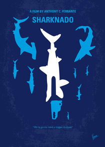 No216 My Sharknado minimal movie poster by chungkong