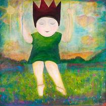 Die kleine Prinzessin auf der Traumschaukel by mimacko