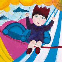 Die kleine Prinzessin auf dem Kettenkarussel by mimacko