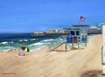 Redondo Beach Life Guard by Jamie Frier