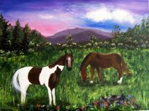 Horses in Pasture by Jamie Frier