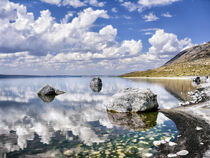 Lake Abert on a Hot August Afernoon by Kathleen Bishop