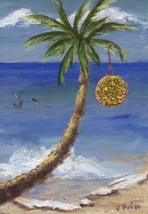 Palm Tree Christmas von Jamie Frier
