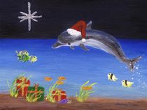 Dolphin Christmas by Jamie Frier