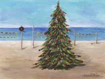 Christmas Tree at the Beach by Jamie Frier