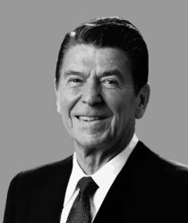 President Reagan by warishellstore