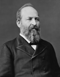 President James Garfield by warishellstore