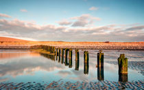Reflections @ Aldingham Groyne von Chris Frost