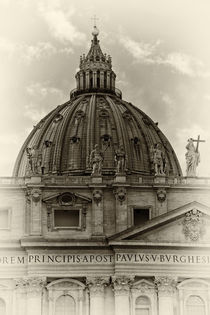 St. Peter's Basilica by David Pringle