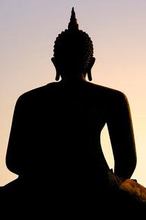 Buddha sunrise by Pieter Tel