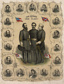Confederate Generals of The Civil War von warishellstore