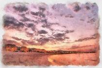 Sea Sunset von dado