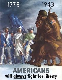 Americans Will Always Fight For Liberty von warishellstore
