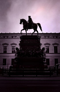 Statue of the Frederick the Great by olgasart