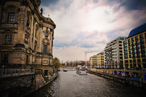Berlin Dome and the Spree River by olgasart