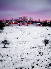 Greenwich view von Diana Canzano
