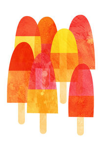 Ice Lollies and Popsicles von Nic Squirrell